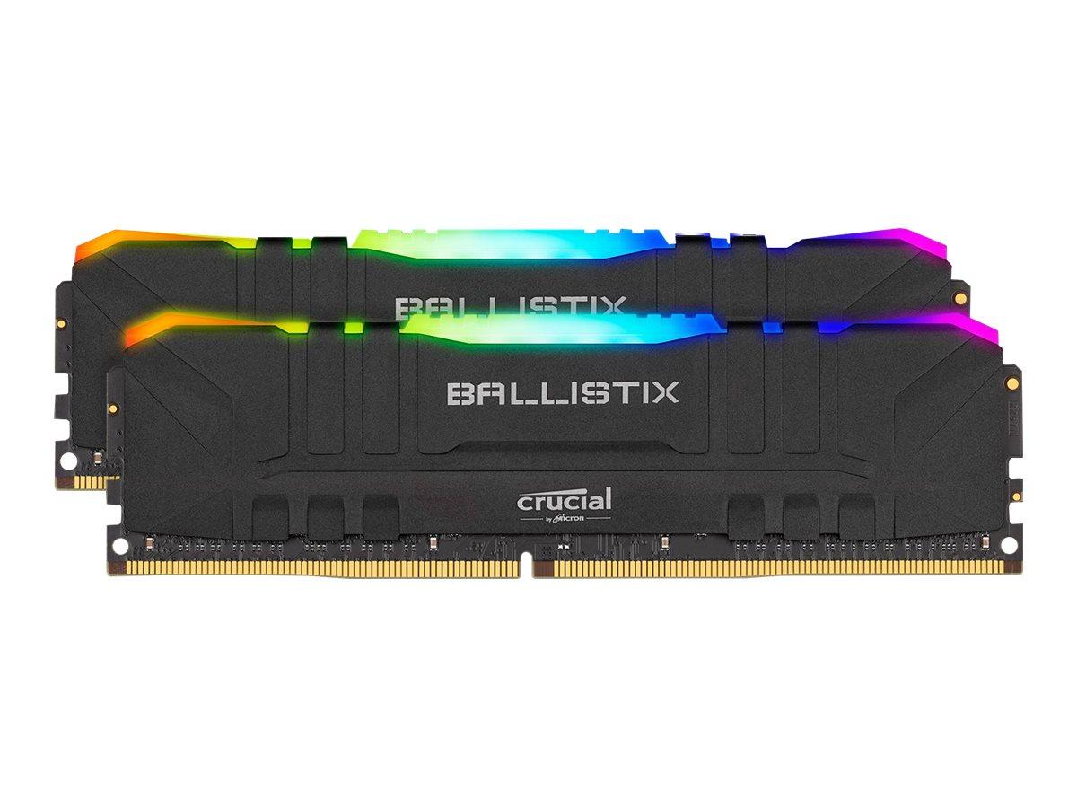 Ballistix RGB - DDR4 - 64 GB: 2 x 32 GB - DIMM 288-PIN - 3600 MHz / PC4-28800 - CL16