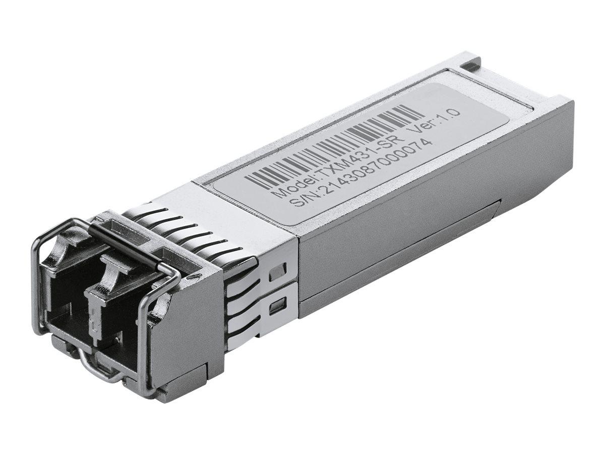 TP-Link TXM431-SR - SFP+-Transceiver-Modul - 10 GigE - 10GBase-SR - LC Multi-Mode - bis zu 300 m