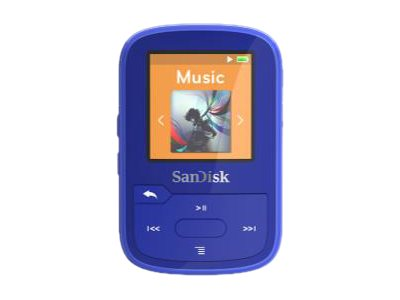 SanDisk Clip Sport Plus - Digital Player - 16 GB - Blau