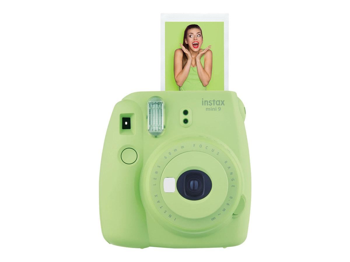 Fujifilm Instax Mini 9 - Instant Kamera - Objektiv: 60 mm - Lime Green