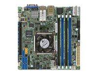 SUPERMICRO X10SDV-4C+-TLN4F - Motherboard - Mini-ITX - Intel Xeon D-1518 - USB 3.0 - 2 x 10 Gigabit LAN, 2 x Gigabit LAN