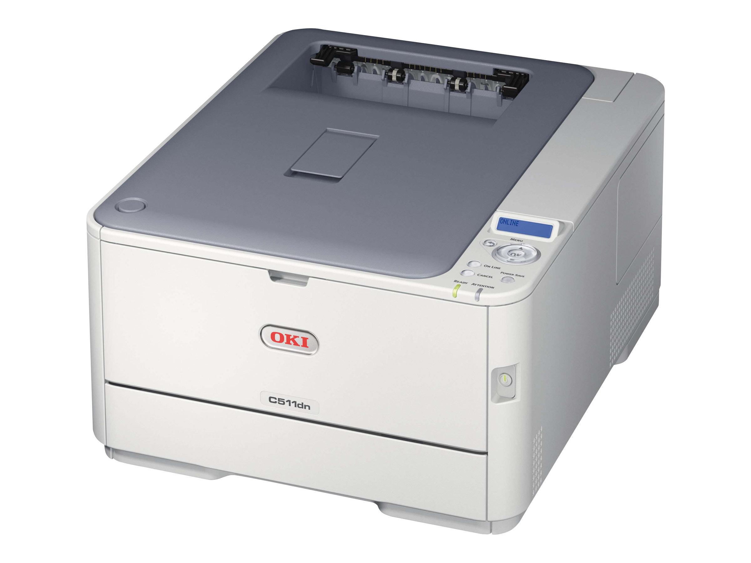 OKI C511dn - Drucker - Farbe - Duplex - LED - A4