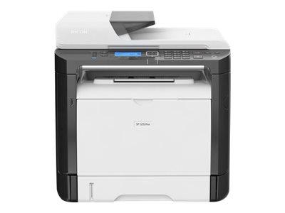Ricoh SP 325SNw - Multifunktionsdrucker - s/w - Laser - A4 (210 x 297 mm), Legal (216 x 356 mm) (Original) - A4/Legal (Medien)