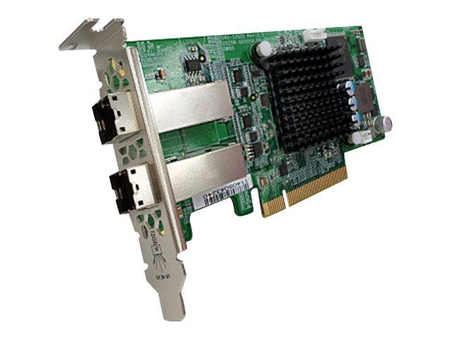 QNAP SAS-12G2E - Speicher-Controller - SAS 12Gb/s - 12 Gbit/s