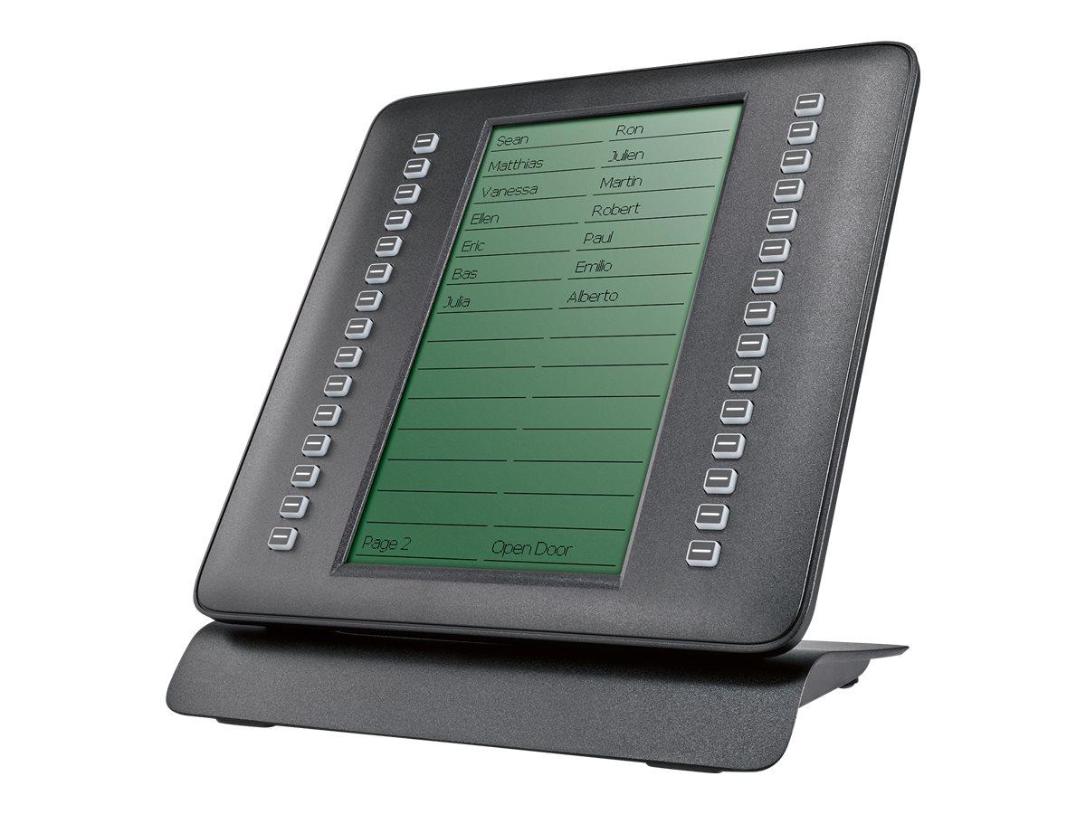 elmeg T600 - Funktionstasten-Erweiterungsmodul - Schwarz - für elmeg IP620, IP630