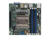 SUPERMICRO M11SDV-8CT-LN4F - Motherboard - Mini-ITX - AMD EPYC Embedded 3201 - USB 3.0 - 4 x Gigabit LAN