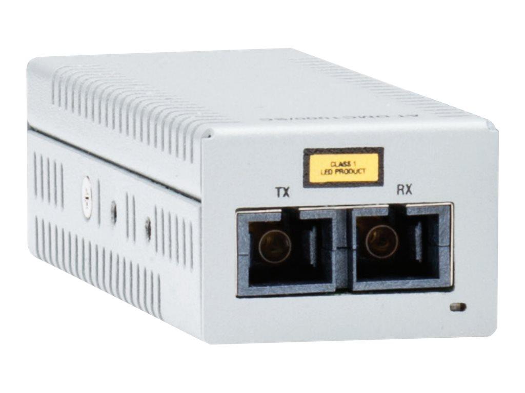 Allied Telesis AT DMC100/LC - Medienkonverter - 100Mb LAN - 100Base-FX, 100Base-TX - RJ-45 / LC Multi-Mode - bis zu 2 km