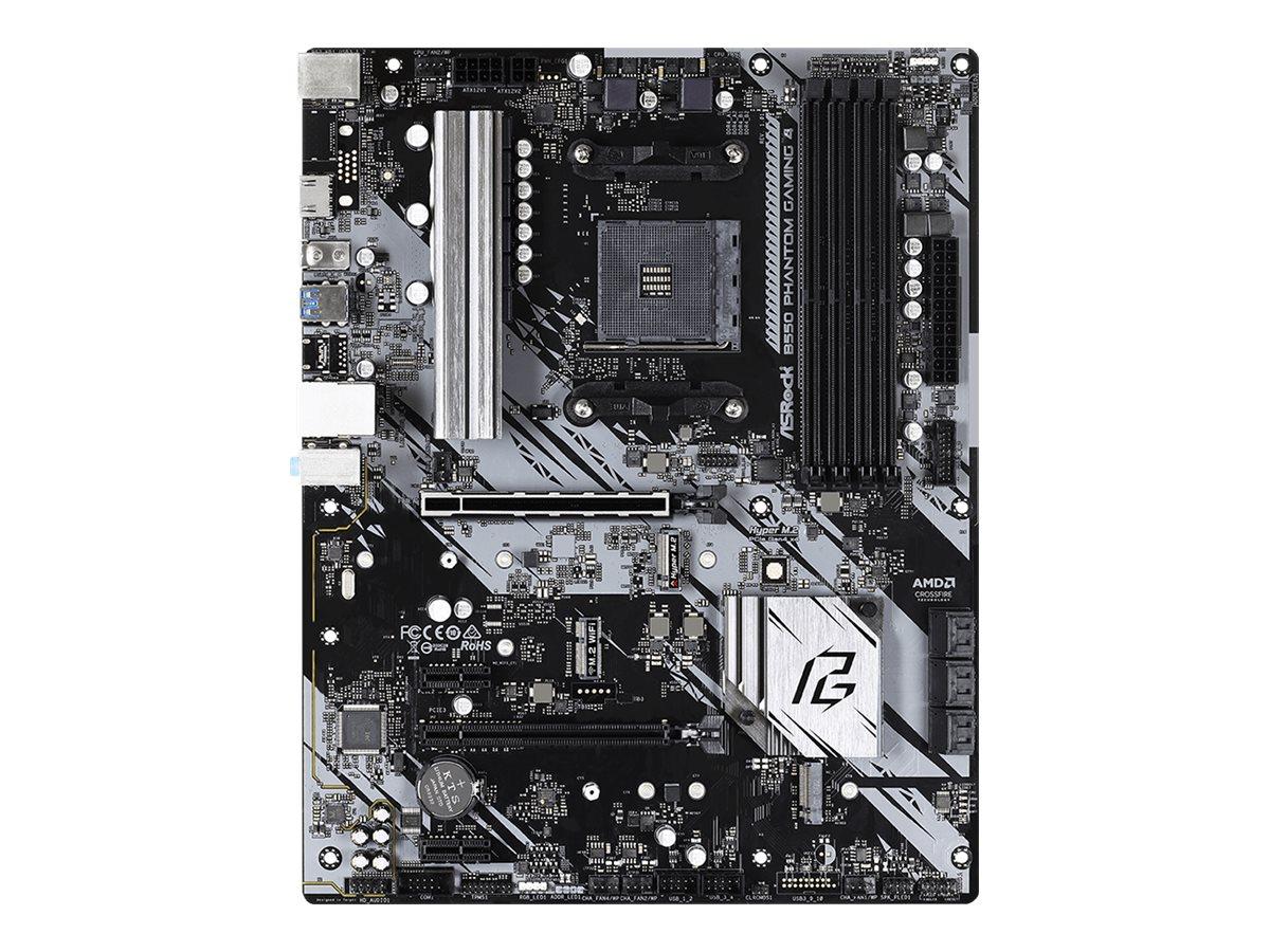 ASRock B550 Phantom Gaming 4 - Motherboard - ATX - Socket AM4 - AMD B550 - USB 3.2 Gen 1