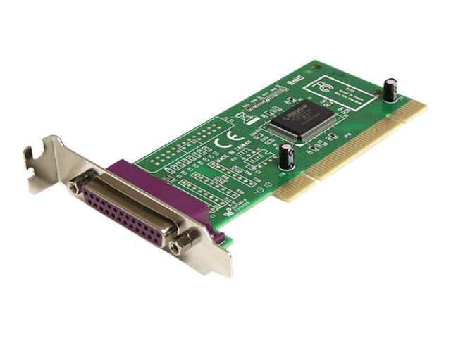 StarTech.com 1 Port PCI Parallel DB25 Schnittstellenkarte - Low Profile - Parallel-Adapter - PCI Low-Profile - IEEE 1284