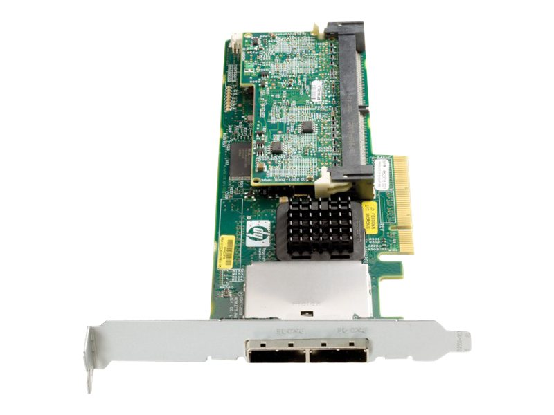 HPE Smart Array P411/1G FBWC - Speichercontroller (RAID) - SATA 1.5Gb/s / SAS Low-Profile - 300 MBps - RAID 0, 1, 5, 10, 50 - PC