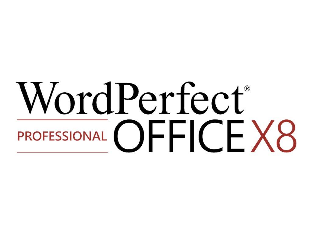 WordPerfect Office X8 Professional Edition - Medien - Win - Multi-Lingual