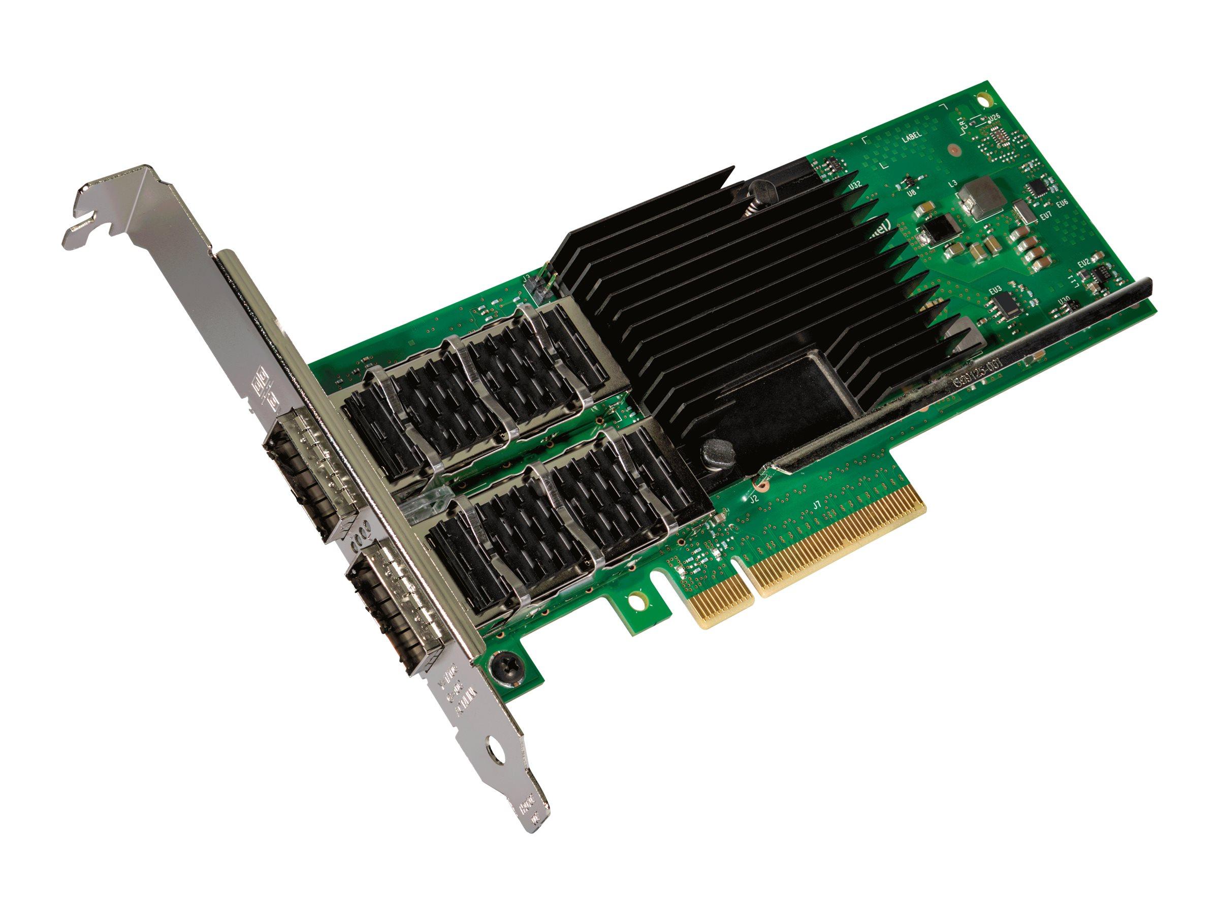 Intel Ethernet Converged Network Adapter XL710-QDA2 - Netzwerkadapter - PCIe 3.0 x8 Low-Profile - 40 Gigabit QSFP+ x 2
