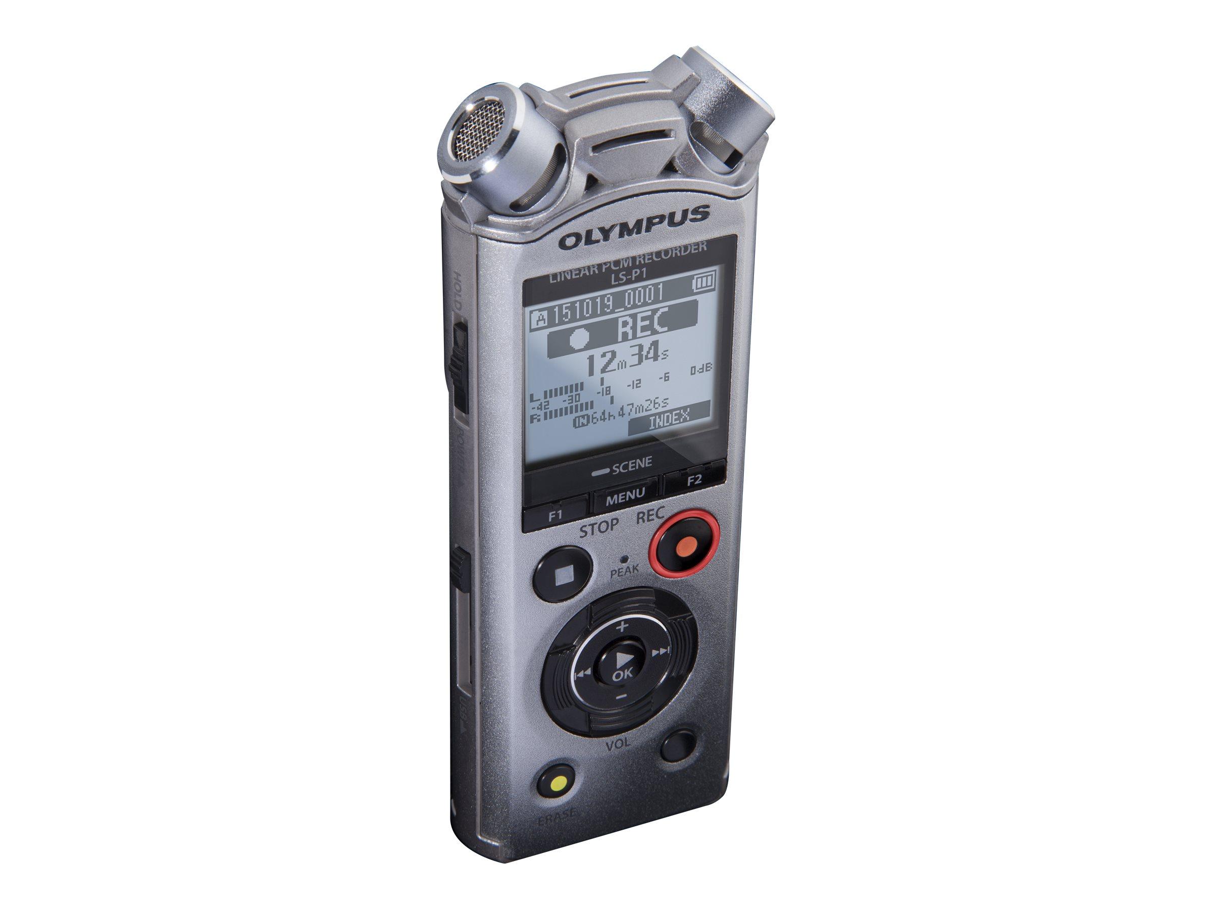 Olympus LS-P1 - Voicerecorder - 4 GB