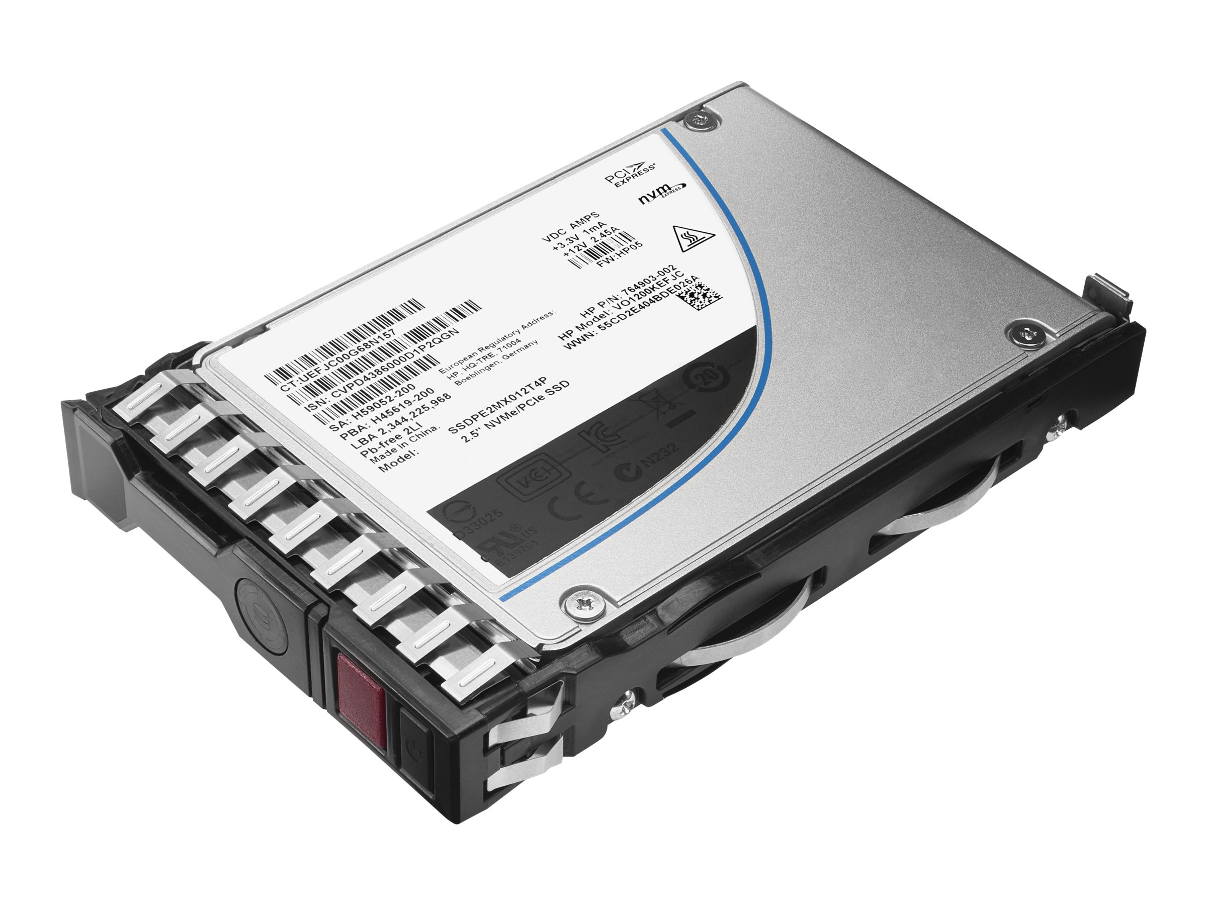 HPE Mixed Use-2 - Solid-State-Disk - 200 GB - Hot-Swap - 2.5
