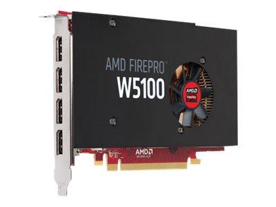 AMD FirePro W5100 - Grafikkarten - FirePro W5100 - 4 GB - 4 x DisplayPort - für Precision T1700; Precision Rack 7910; Precision