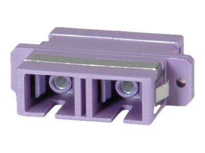 VALUE - Netzwerkadapter - SC multi-mode (W) bis SC multi-mode (W) - Glasfaser - OM4 - lila