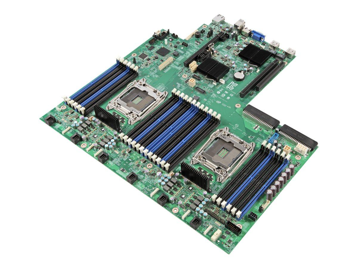 Intel Server Board S2600WT2R - Motherboard - LGA2011-v3-Sockel - 2 Unterstützte CPUs - C612 - USB 3.0