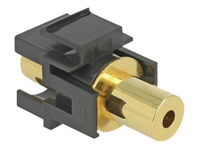 DeLOCK - Audiokoppler - Mini-Stecker (M) bis Mini-Stecker (M) - 3.63 m - Schwarz