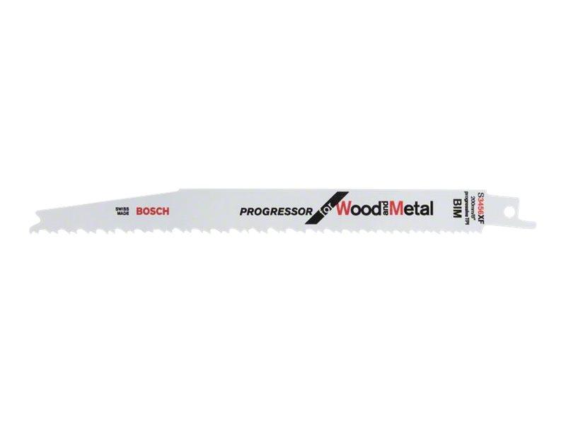 Bosch Progressor for Wood and Metal S 3456 XF - Sägeblatt - 5 Stücke - Länge: 200 mm