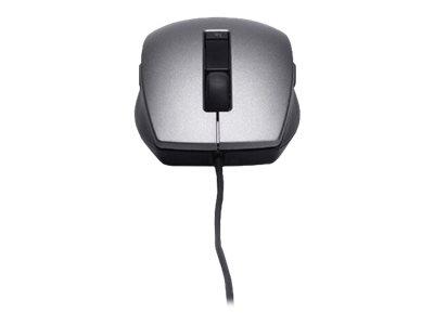 Dell - Maus - Laser - 6 Tasten - kabelgebunden - USB