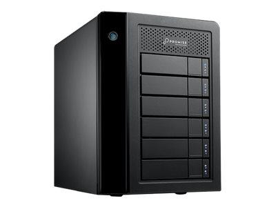 Promise Pegasus3 R6 - Symply Edition - Festplatten-Array - 24 TB - 6 Schächte (SATA-600) - HDD 4 TB x 6