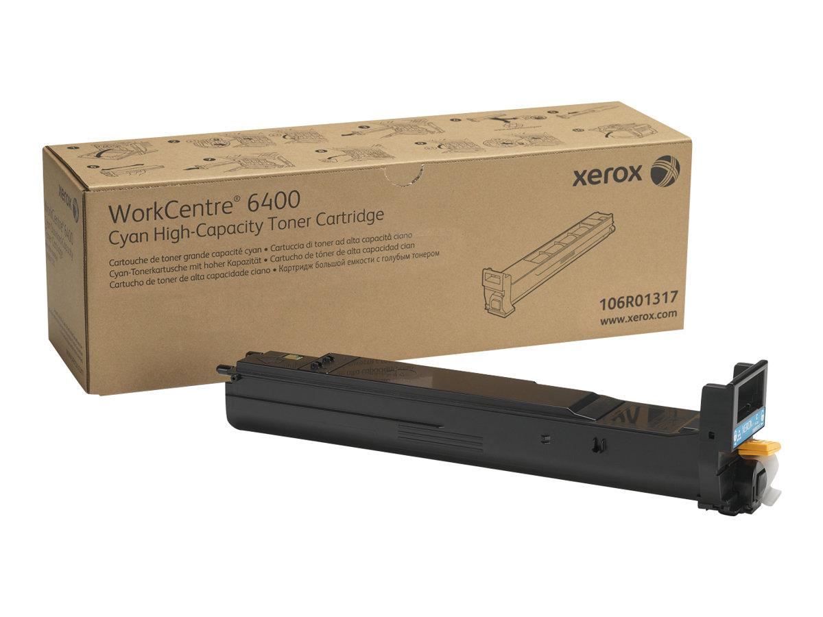 Xerox WorkCentre 6400 - Mit hoher Kapazität - Cyan - Original - Tonerpatrone - für WorkCentre 6400, 6400/XFM, 6400S, 6400SFS, 64