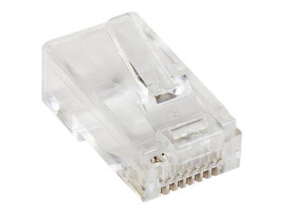StarTech.com Cat5e RJ-45 Steckverbinder 50 St. - Grosspackung 50x RJ45 Modularstecker - Netzwerkanschluss - RJ-45 (M) - CAT 5e (