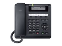 Unify OpenScape Desk Phone CP200 - VoIP-Telefon - dreiweg Anruffunktion - SIP - Schwarz