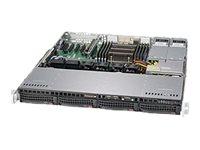 Supermicro SuperServer 5018R-MR - Server - Rack-Montage - 1U - 1-Weg - keine CPU
