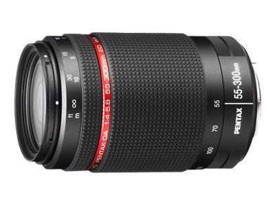 Pentax HD DA - Telezoomobjektiv - 55 mm - 300 mm - f/4.0-5.8 ED WR - Pentax K