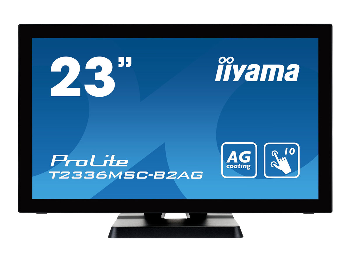 iiyama ProLite T2336MSC-b2AG - LED-Monitor - 58.4 cm (23