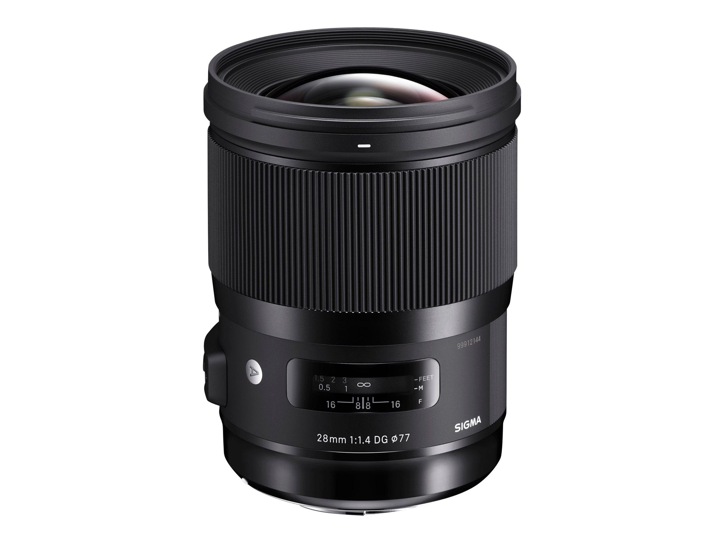 Sigma Art - Objektiv - 28 mm - f/1.4 DG HSM - Nikon F