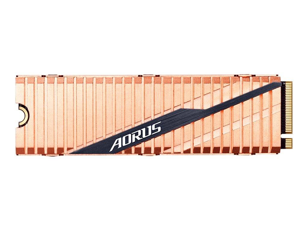 AORUS - Solid-State-Disk - 2000 GB - intern - M.2 2280 - PCI Express 4.0 x4 (NVMe)