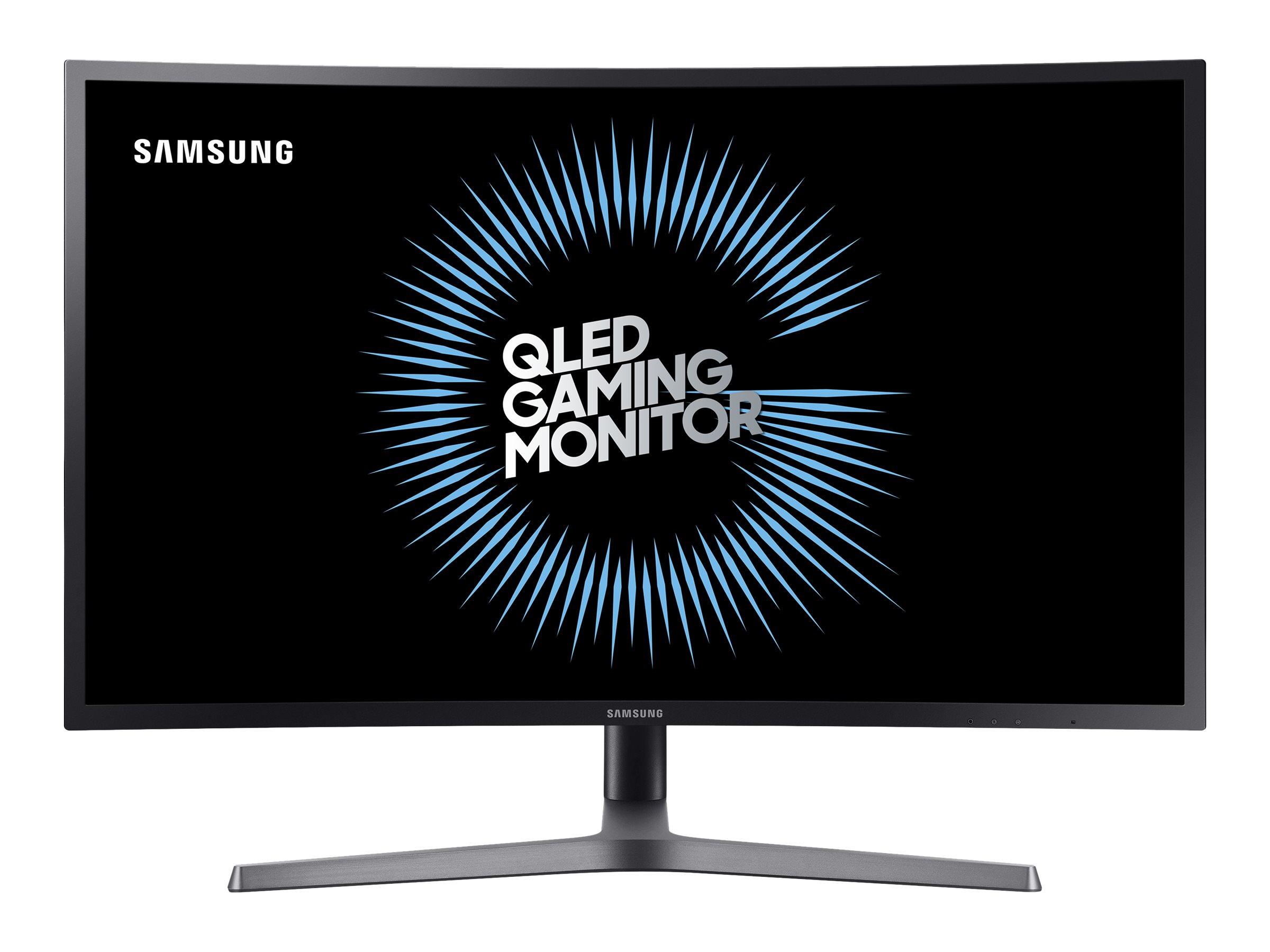 Samsung CHG7 Series C32HG70QQU - QLED monitor - gebogen - 81.3 cm (32