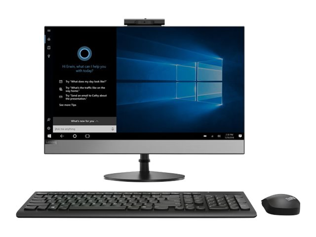 Lenovo V530-24ICB 10UW - All-in-One (Komplettlösung) - mit Monitorständer - 1 x Core i5 8400T / 1.7 GHz - RAM 8 GB - SSD 256 GB