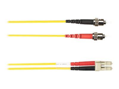 Black Box - Patch-Kabel - ST multi-mode (M) bis LC Multi-Mode (M) - 10 m - Glasfaser - Gelb