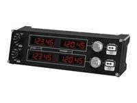 Logitech Flight Radio Panel - Flugsimulator-Instrumentenbrett - kabelgebunden - für PC