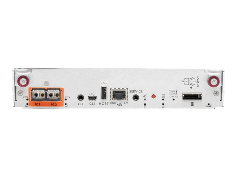 HPE StorageWorks Modular Smart Array P2000 G3 - Speichercontroller (RAID) - SATA 3Gb/s / SAS 6Gb/s - 6 Gbit/s - RAID 0, 1, 3, 5,