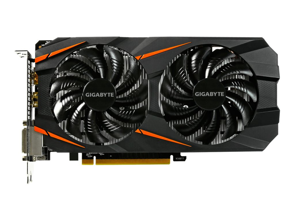 Gigabyte GeForce GTX 1060 WINDFORCE OC 6G - Grafikkarten - GF GTX 1060 - 6 GB GDDR5 - PCIe 3.0 x16 - 2 x DVI, HDMI, DisplayPort