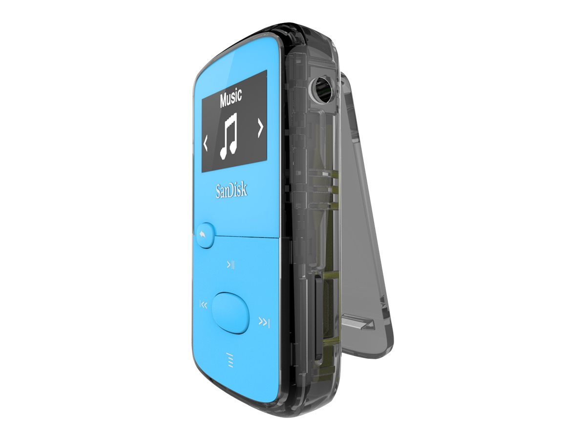 SanDisk Clip Jam - Digital Player - 8 GB - Blau