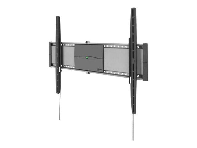 Vogel's Superflat L EFW 8305 - Wandhalterung für LCD-/Plasmafernseher - Schwarz, Dolphin Gray - Bildschirmgrösse: 101.6-203.2 cm