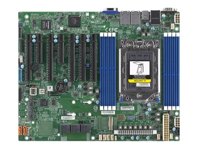 SUPERMICRO H12SSL-i - Motherboard - ATX - Socket SP3 - USB 3.0 - 2 x Gigabit LAN