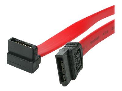 StarTech.com 60cm SATA Serielles ATA-Kabel rechts gewinkelt - Bu/Bu - S-ATA Anschlusskabel - SATA-Kabel - Serial ATA 150/300/600