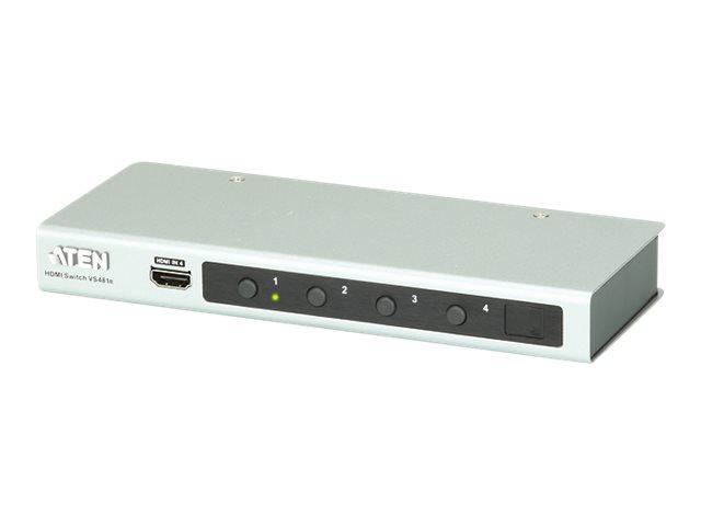 ATEN VS481B - Video/Audio-Schalter - 4 x HDMI - Desktop