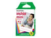 Fujifilm Instax Mini - Instant-Farbfilm - ISO 800 - 10 Belichtungen