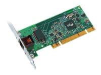 Intel PRO/1000 GT Desktop Adapter - Netzwerkadapter - PCI Low-Profile - Gigabit Ethernet