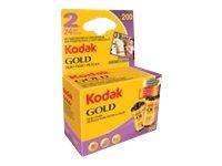 Kodak Gold 200 - Farbnegativfilm - 135 (35 mm) - ISO 200 - 24 Belichtungen - 2 Rollen