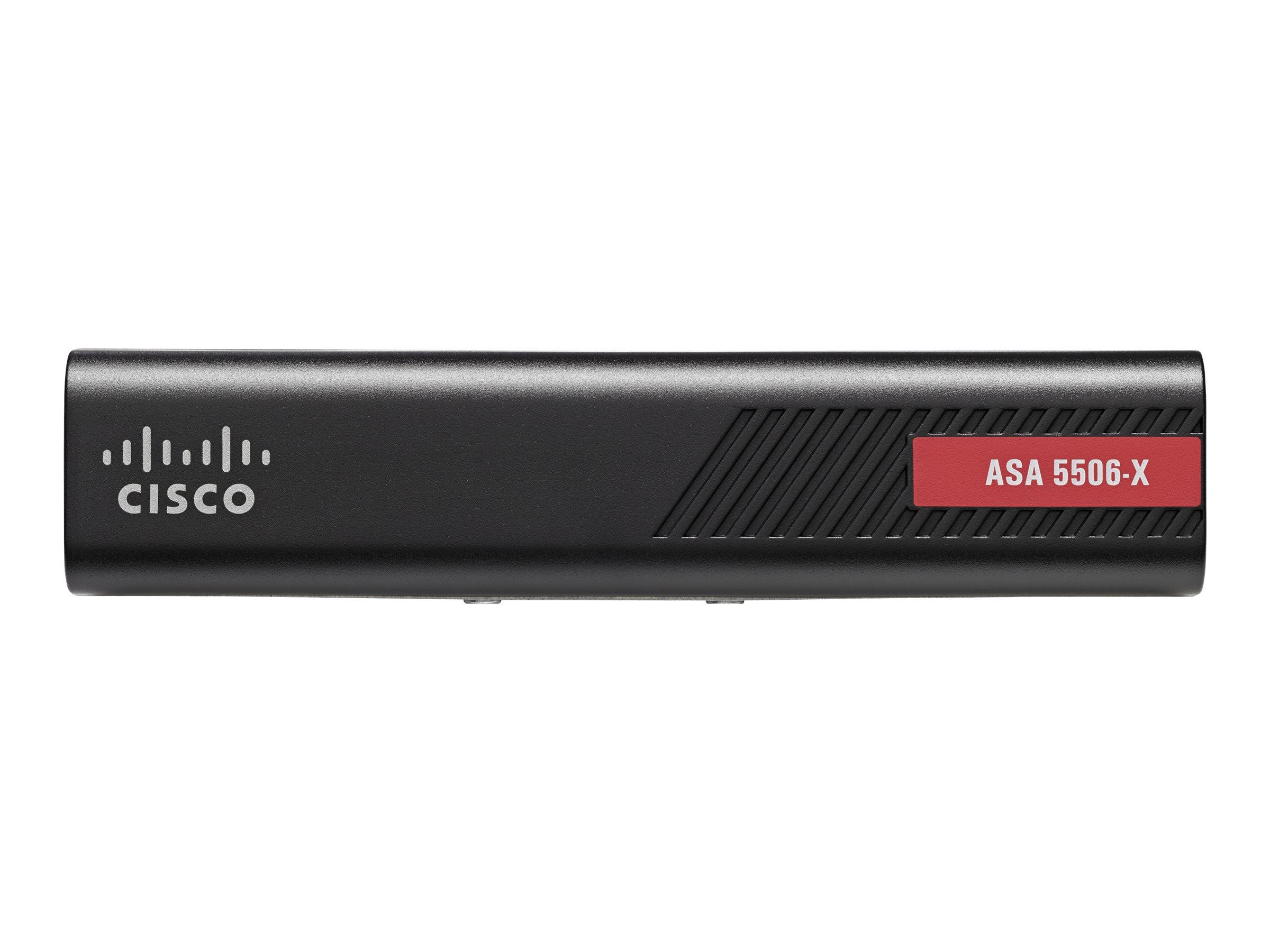 Cisco ASA 5506-X with FirePOWER Services - Sicherheitsgerät - 8 Anschlüsse - GigE - Desktop