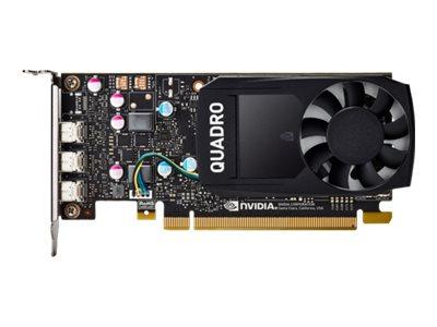 NVIDIA Quadro P2000 - Grafikkarten - Quadro P2000 - 5 GB GDDR5 - 4 x DisplayPort - für Workstation Z2 G4, Z240 (MT, Tower), Z4 G