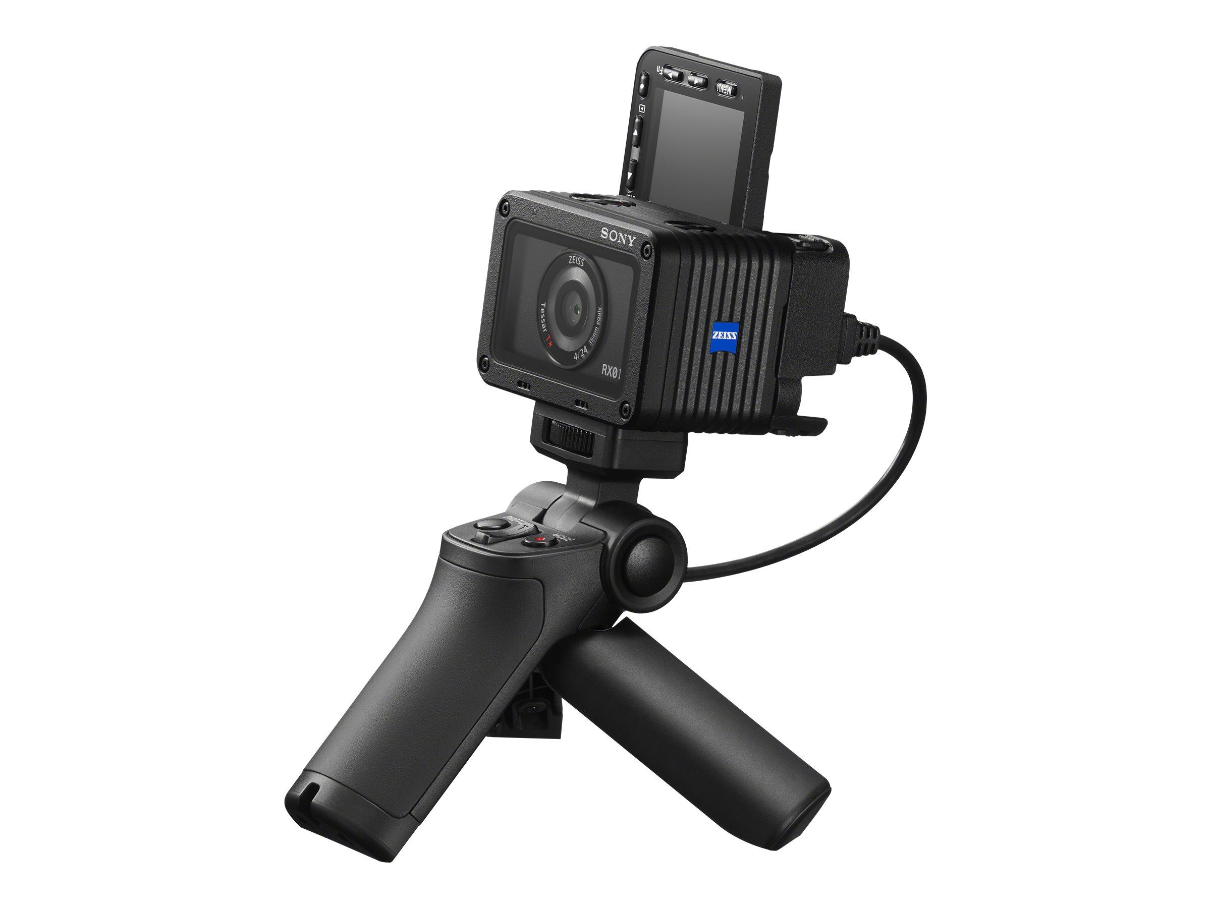 Sony RX0 II - Action-Kamera - 4K / 30 BpS - 15.3 MPix - Carl Zeiss - Wi-Fi, Bluetooth